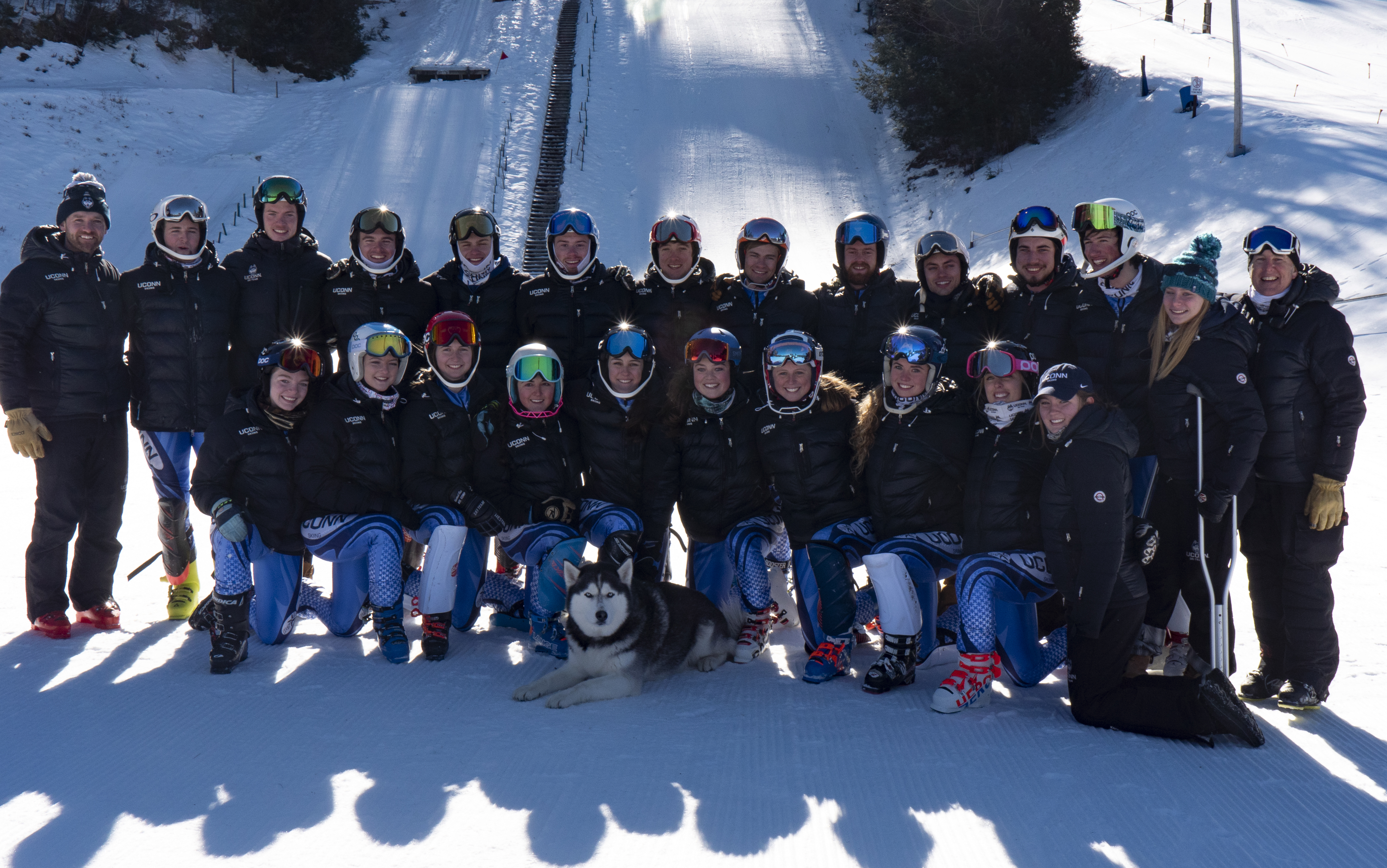 The 2016-2017 UConn Ski Team