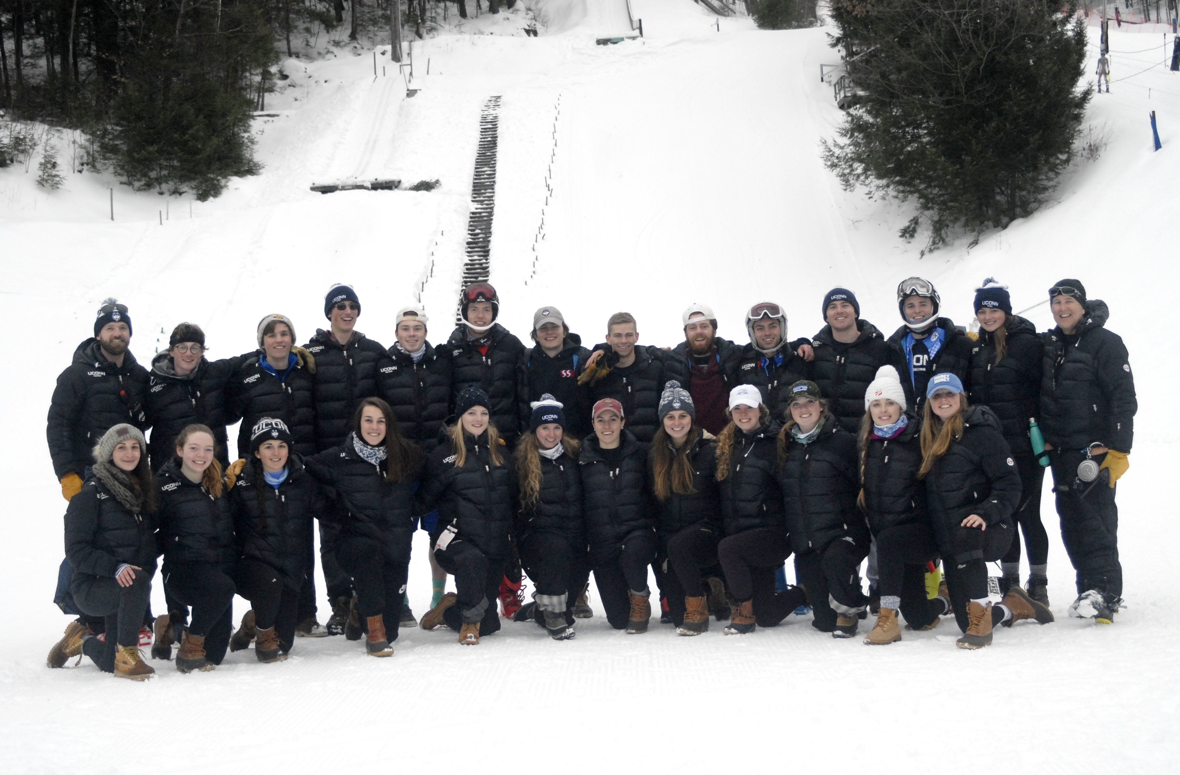 The 2016-2017 UConn Ski Team
